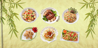 Oriental food Stock Images