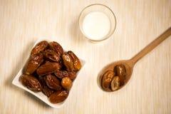 Oriental food for the Ramadan period. Traditional oriental food for the Ramadan period Royalty Free Stock Photos