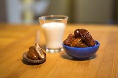 Oriental food for the Ramadan period. Traditional oriental food for the Ramadan period Stock Images