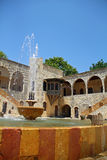 Oriental fountain 2. An ancient fountain at historical palace of beiteddine nda Beirut lebanon Stock Photography