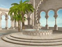 Oriental fountain Royalty Free Stock Photo