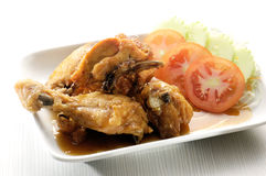 Oriental fried chicken Royalty Free Stock Image