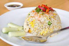 Oriental fried rice Royalty Free Stock Images
