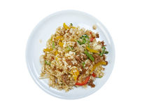 Oriental fried rice tyahan - Royalty Free Stock Images