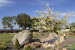 Oriental garden Royalty Free Stock Photography