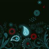 Oriental garden background Stock Photo