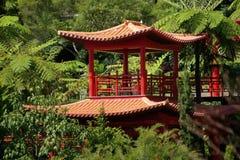 Oriental garden, Madeira Royalty Free Stock Photography