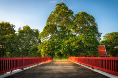 Oriental garden with a sense of peace Royalty Free Stock Photo