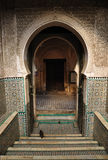 Oriental gate in Fes Morocco Stock Images