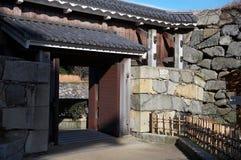 Oriental gates Royalty Free Stock Photo