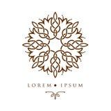 Oriental geometric design arabic pattern logo template. Oriental geometric design arabic pattern logo template Stock Photo