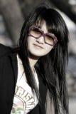 An Oriental girl Stock Photography