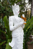 Oriental god statue in Thailand Royalty Free Stock Photo