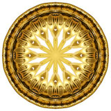 Oriental gold ornament texture Royalty Free Stock Photo