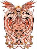 Oriental guard Royalty Free Stock Image