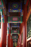 An Oriental Hallway Royalty Free Stock Images