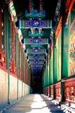 An Oriental Hallway Royalty Free Stock Image