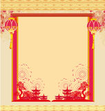 Oriental Happy Chinese New Year Stock Images