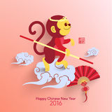 Oriental Happy Chinese New Year Vector stock photos