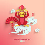 Oriental Happy Chinese New Year Vector Royalty Free Stock Image