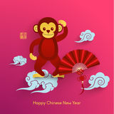 Oriental Happy Chinese New Year Vector. Design Royalty Free Stock Photo