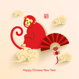 Oriental Happy Chinese New Year Vector. Design Royalty Free Stock Photography