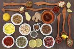 Oriental Herb Teas Stock Photo