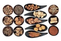 Oriental Herbs Stock Photos