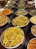 Oriental herbs Stock Image