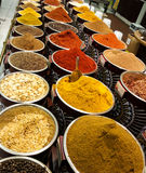 Oriental herbs and spices Stock Photography