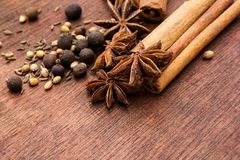 Oriental herbs Stock Photos