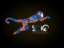Oriental horoscope, Year of the Monkey Stock Images