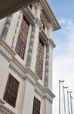Oriental hotel building Stock Photo