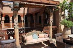 Oriental Hotel Terrasse Stock Image