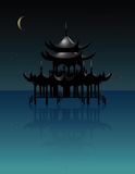 Oriental house Royalty Free Stock Images