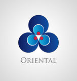 Oriental icon Royalty Free Stock Photography