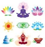 Oriental icons set