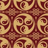 Oriental - Japanese - Seamless Pattern Stock Photo