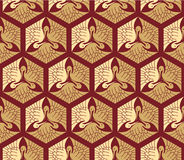Oriental - Japanese - Seamless Pattern Royalty Free Stock Photo