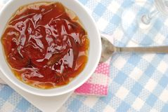 Oriental jelly dessert Royalty Free Stock Photos