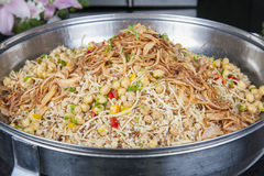 Oriental koshery at a hotel restaurant buffet Royalty Free Stock Images