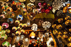 Oriental Lamps Stock Image