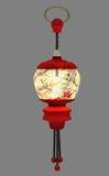 Oriental Lantern. 3d render of a lit oriental lantern Royalty Free Stock Photo