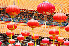 Oriental Lanterns Royalty Free Stock Photo