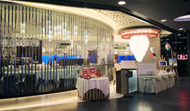 Oriental Lily restaurant in hong kong Stock Image
