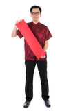 Oriental male Chinese New Year Royalty Free Stock Image