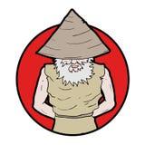 Oriental man symbol Stock Images