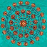 Oriental mandala Stock Image