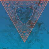 Oriental Mandala Motif Stock Images