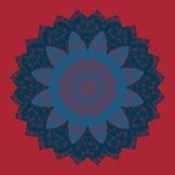 Oriental mandala motif round lase pattern, like Stock Photography